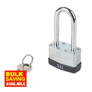 Smith & Locke Laminated Padlock 45mm