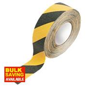 Anti-Slip Tape Black / Yellow 50mm x 18m