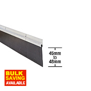 Stormguard Garage Seal Aluminium 2.5mm
