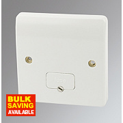 MK 13A Unswitched Fused Connection Unit White