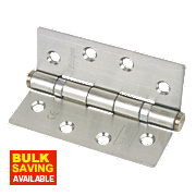 Grade 11 Ball Bearing Hinge Nickel-Plated 102 x 76mm Pk3