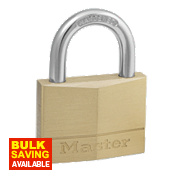 Master Lock Brass Padlock 50mm
