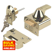 Yale BS Night Latch Brass 40mm
