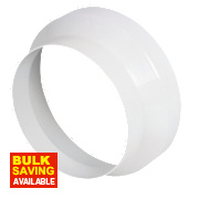 Round Reducer White 150mm