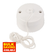 10AX Ceiling Pull Cord Switch