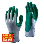 Showa 350R Thorn-Master Nitrile Gloves Green Large