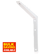 Hi-Load Bracket 120kg White 250 x 250mm Pack of 10