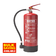 Firechief Pressure Water Fire Extinguisher 6Ltr