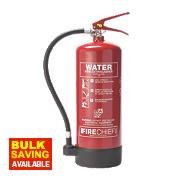 Firechief Pressure Water Fire Extinguisher 6Ltr