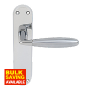 Jedo Stylo Door Handle Pack Polished / Satin Chrome