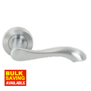Jedo Chloe Door Handle Pack Satin Chrome