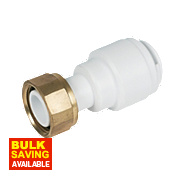 FloPlast Flo-Fit Tap Connector 22mm x ¾""