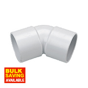FloPlast 135º (45°) Bend White 40mm Pack of 5