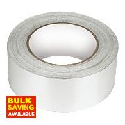 Aluminium Foil Tape Silver / Aluminium 48mm x 45m