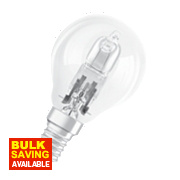 Osram Ball Halogen Lamp SES 46W