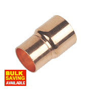 Flomasta End Feed Fitting Reducers 28 x 22mm Pack of 2