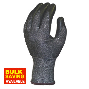Skytec Ninja Knight Cut 5 Gloves Grey/Black Large