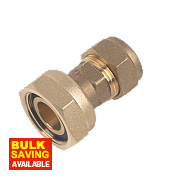 """Straight Tap Connector 15mm x ¾"""""""