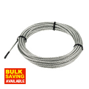 Wire Rope Grey 6mm x 10m