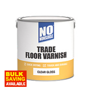 No Nonsense Quick-Dry Floor Varnish Gloss 2.5Ltr