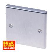 LAP 1-Gang Blank Plate Stainless Steel