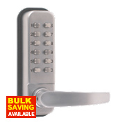 Securefast Push Button Lock with Tubular Latch