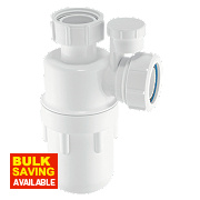 McAlpine Anti-Syphon Bottle Trap 32mm White