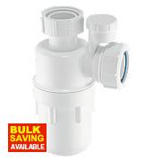 McAlpine Anti-Syphon Bottle Trap 32mm White