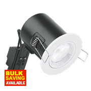 Aurora Fire Rated Fixed LED Downlight IP20 White N/AW