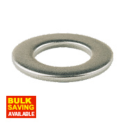 Flat Washers A4 M6 Pack of 100