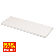 Melamine Shelves 600 x 250 x 19mm Pack of 2