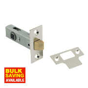 Tubular Latch Nickel-Plated 63mm