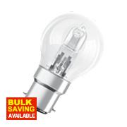 Osram BC Eco Halogen Lamp BC 46W