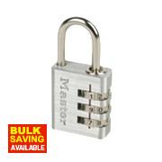 Master Lock Aluminium Padlock Aluminium 30mm
