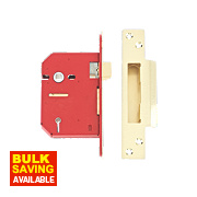 "Union 5-Lever Mortice Sashlock Brass 3"" / 81mm"