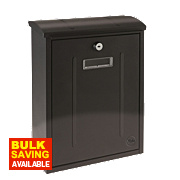 Yale Maryland Post Box Black Satin Steel