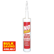 No Nonsense Anti-Crack Acrylic White 310ml