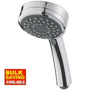 Triton Lara Shower Head Chrome 84 x 230mm