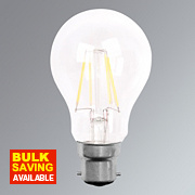 LAP GLS LED Lamp Clear BC 4W