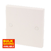 1-Gang Blanking Plate White