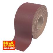 Flexovit Aluminium Oxide Sanding Roll 115mm x 25m 60 Grit