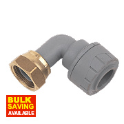 PolyPlumb Bent Tap Connector 15mm x ½""