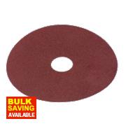 Alox Fibre Disc 115mm 80 Grit Pack of 10