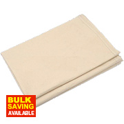 Cotton Twill Poly-Backed Dust Sheet 24