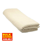 Heavy Duty Cotton Twill Dust Sheet 12