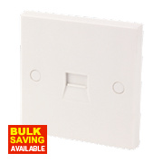 1G Master Telephone Socket White