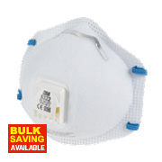 3M Cup-Valved Respirators FFP2 Pack of 10