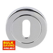 Jedo Escutcheon Polished Chrome 50mm