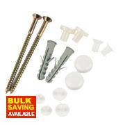 Fischer Toilet Pan / Bidet Fixing Kit