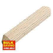 Precision Multi-Grooved Dowel Pins 6 x 30mm 100 Pack